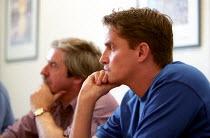 TGWU shop stewards meet with Production manager, Atherstone, Warwickshire. - Jess Hurd - 09-07-2002