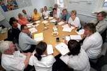 Joint Shop Steward meeting, Selly Oak Hospital, West Midlands. - Jess Hurd - 07-08-2002