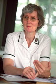 Steward at a Physiotherapy and OT management meeting Selly Oak Hospital, West Midlands. - Jess Hurd - 07-08-2002