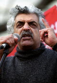 Tariq Ali speaking Stop the War protest, Parliament Square, Westminster, London 2003 - Jess Hurd - 2000s,2003,activist,activists,against,anti war,Antiwar,BAME,BAMEs,Black,BME,bmes,CAMPAIGN,campaigner,campaigners,CAMPAIGNING,CAMPAIGNS,DEMONSTRATING,demonstration,DEMONSTRATIONS,diversity,ethnic,ethni