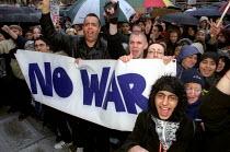 Anti war protest, Albert Square, Manchester. - Jess Hurd - 2000s,2003,activist,activists,anti war,Antiwar,asian,BAME,BAMEs,black,BME,bmes,CAMPAIGN,campaigner,campaigners,CAMPAIGNING,CAMPAIGNS,cultural,DEMONSTRATING,DEMONSTRATION,DEMONSTRATIONS,diversity,ethni
