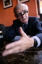 Ex- Docker celebrates his 62nd birthday in a local pub, Chrisp Street Market, Poplar, East London. - Jess Hurd - 14-06-2003