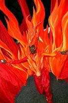 Elaborate costumes at the Notting Hill Carnival London - Jess Hurd - 25-08-2003
