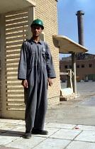 Worker and trade union members at the Baghdad Oil refinery. Baghdad, Iraq. - Jess Hurd - conflicts & war,2000s,2003,arab,arabian,arabic,arabs,ebf economy,Iraq,Iraqi,Iraqi Iraqis,IRQ368,job,jobs,LAB lbr Work,member,member members,members,Middle East,middleeast,Oil,people,REFINERIES,REFINER