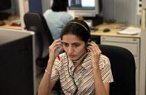 Prudential Call Centre, Mumbai India. - Jess Hurd - 19-01-2004