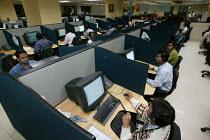Infowavz Call Centre, Mumbai India. - Jess Hurd - 23-01-2004