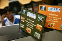 Target awards, Infowavz Call Centre. Mumbai, India. - Jess Hurd - 23-01-2004