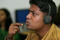 Transworks Call Centre, Mumbai India. - Jess Hurd - 20-01-2004