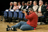 Neil Turner Times Ed photographer at the Liberal Democrat Conference 2004. - Jess Hurd - 21-09-2004