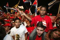 Opening march of the World Social Forum. Caracas, Bolivarian Republic of Venezuela. - Jess Hurd - 24-01-2006