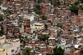 Rocinha Favela, Rio De Janeiro where approx 50,000 people live in slum housing, Brazil. - Jess Hurd - 2000s,2005,americas,bad,Brazilian,Brazilians,EQUALITY,excluded,exclusion,HARDSHIP,housing,impoverished,impoverishment,INEQUALITY,Latin America,Marginalised,overcrowding,people,poor,poverty,precariat,p