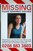 Missing persons posters in the vicinity of the London bombings at Kings Cross Station. - Jess Hurd - 11-07-2005