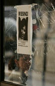Missing persons posters in the vicinity of the London bombings at Kings Cross Station. - Jess Hurd - 2000s,2005,7/7,bomb,bombing,bombings,bombs,clj crime law and justice,death,deaths,died,FEMALE,London,missing,mortality,people,person,personal IDentification,persons,poster,posters,scene,scenes,seven,s