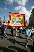 NUT banner joins Stop the War Peace and Liberty march. London. - Jess Hurd - 2000s,2005,activist,activists,anti war,Antiwar,CAMPAIGN,Campaign for nuclear disarmament,campaigner,campaigners,CAMPAIGNING,CAMPAIGNS,CND,DEMONSTRATING,demonstration,DEMONSTRATIONS,MAB,member,member m