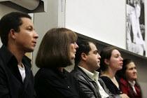 Gareth Peirce - The de Menezes family�s lawyer at Jean Charles de Menezes Family campaign meeting at the LSE, London. - Jess Hurd - 10-10-2005