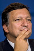 Jose Manuel Barroso President of The European Commission at an Informal Tripartite Social Summit. The Summit is part of the UK's Presidency preparations for the Informal Meeting of the Heads of State... - Jess Hurd - 24-10-2005