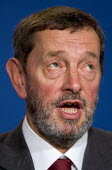 David Blunkett MP at an Informal Tripartite Social Summit. The Summit is part of the UK's Presidency preparations for the Informal Meeting of the Heads of State and Government. Lancaster House, London... - Jess Hurd - 24-10-2005