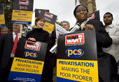 PCS join a Mass Lobby of Parliament for Trade Justice. Called by the Trade Justice Movement and Make Poverty History. London. - Jess Hurd - 02-11-2005