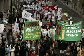 Demonstration Against Climate change. The London Demo is part of the International Day of Climate Protest planned around the world. - Jess Hurd - 03-12-2005
