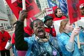 Cleaners at Canary Wharf are to be balloted for strike action after a long-running campaign to persuade their bosses to improve working conditions and pay them a living wage. Rally called by TELCO and... - Jess Hurd - 07-04-2006