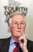 Michael Meacher MP speaks at a Defend Council Housing Conference. United to win the 'Fourth Option' all those in areas retaining council housing, those with ALMOs and those still to decide. Congress H... - Jess Hurd - 22-05-2006