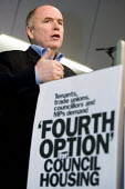 Jack Dromey TGWU speaks at a Defend Council Housing Conference. United to win the 'Fourth Option' all those in areas retaining council housing, those with ALMOs and those still to decide. Congress Hou... - Jess Hurd - 22-05-2006