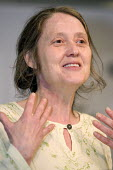 Eileen Short NUJ speaks at a Defend Council Housing Conference. United to win the 'Fourth Option' all those in areas retaining council housing, those with ALMOs and those still to decide. Congress Hou... - Jess Hurd - 22-05-2006