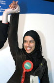 Newly elected Respect Party councillors for Bromley by Bow - rania Khan. Tower Hamlets local election count. The Respect party won 11 seats in total. East London. - Jess Hurd - 05-05-2006