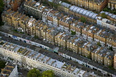 Dense housing in South West London. Views from a hot air balloon. - Jess Hurd - 2000s,2006,ACE,Aerial View,architecture,balloon,balloons,building,buildings,cities,city,cityscape,cityscapes,culture,EBF Economy,highway,house,houses,housing,housing Market,outdoors,outside,residentia