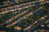 Residential housing in South West London. Views over London from a hot air balloon. - Jess Hurd - 2000s,2006,ACE,Aerial View,architecture,balloon,balloons,building,buildings,cities,city,cityscape,cityscapes,culture,EBF Economy,highway,house,houses,housing,housing Market,London,outdoors,outside,res