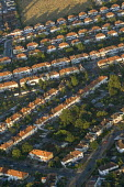 Residential housing in South West London. Views over London from a hot air balloon. - Jess Hurd - 2000s,2006,ACE,Aerial View,architecture,arts,balloon,balloons,building,buildings,cities,city,cityscape,cityscapes,culture,EBF Economy,highway,house,houses,housing,housing Market,London,outdoors,outsid