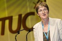 Alison Shepherd, Unison. TUC Congress 2006, Brighton. - Jess Hurd - 14-09-2006