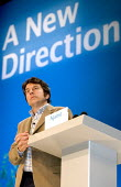 George Monbiot Guardian journalist and environmental activist addresses Conservative Party Conference 2006 - Jess Hurd - 04-10-2006