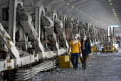 CVG Alcasa Aluminium plant which is co-managed by workers and the state, Bolivarian Republic of Venezuela. - Jess Hurd - 23-11-2006