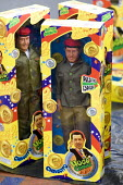 Hugo Chavez dolls. Presidential campaign. Caracas, Bolivarian Republic of Venezuela. - Jess Hurd - ,2000s,2006,americas,Bolivarian,chavista,chavistas,DEMOCRACY,doll,dolls,election,elections,Latin America,left,left wing,leftwing,movement,pol politics,reform,REFORMING,reformist,reforms,revolution,soc