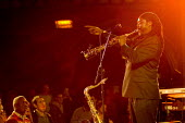 Music artist Courtney Pine plays Cultures of Resistance gig at the Union Chapel, Islington. - Jess Hurd - 09-12-2006