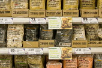 Extra points to promote tesco wholefoods range. Tesco Metro, Bishopsgate, London. - Jess Hurd - 17-04-2007