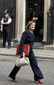 Tessa Jowell MP leaves a cabinet meeting on the day Tony Blair resigns. Downing Street. London. - Jess Hurd - 2000s,2007,female,Labour Party,leaves,meeting,MEETINGS,people,person,persons,POL Politics,ten,woman,women