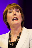 Harriet Harman, MP speaks after being elected the Deputy Leader of the Labour Party. Labour Leadership Conference, Manchester. - Jess Hurd - 24-06-2007