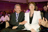 Alan Johnson congratulates Harriet Harman MP on being elected the Deputy Leader of the Labour Party. Labour Leadership Conference, Manchester. - Jess Hurd - 24-06-2007