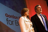 Sarah and Gordon Brown succeeds Tony Blair as leader of the Labour Party. Labour Leadership Conference, Manchester. - Jess Hurd - 2000s,2007,Conference,conferences,FEMALE,Labour Party,leader,people,person,persons,POL Politics,woman,women
