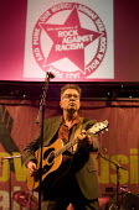 Singer Tom Robinson celebrating 30 years of Rock Against Racism. Love Music Hate Racism Gig. Spice Festival. Hackney Empire, London. - Jess Hurd - 19-07-2007