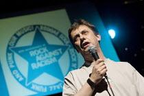 Chris Baugh PCS celebrating 30 years of Rock Against Racism. Love Music Hate Racism Gig. Spice Festival. Hackney Empire, London. - Jess Hurd - 19-07-2007