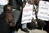 Darfur Asylum Rally, Westminster. - Jess Hurd - 2000s,2007,activist,activists,Asylum Seeker,Asylum Seeker,BME Black Minority Ethnic,CAMPAIGN,campaigner,campaigners,CAMPAIGNING,CAMPAIGNS,conflict,DEMONSTRATING,demonstration,DEMONSTRATIONS,deportatio