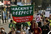 Families march against gun crime from Hackney - Tottenham, London. - Jess Hurd - 14-10-2007