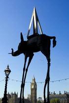Art by Spanish surrealist Salvador Dali, County Hall Gallery, London. - Jess Hurd - 05-10-2007