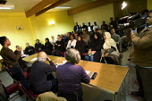 Councillor Oliur Rahman speaks at a Respect Tower Hamlets meeting, Kingsley Hall. London. - Jess Hurd - 12-11-2007