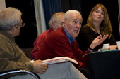 Tony Benn speaks at the MWAW The First Casualty? War, Truth and the Media Today Conference, LSE. London. - Jess Hurd - 17-11-2007