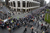 Police protest over pay and for a judicial review of its decision not to backdate officers pay awards. London. - Jess Hurd - 23-01-2008
