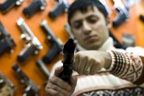 Israeli Baby Desert Eagle 9mm. Handgun market. Istanbul, Turkey. - Jess Hurd - 14-03-2008